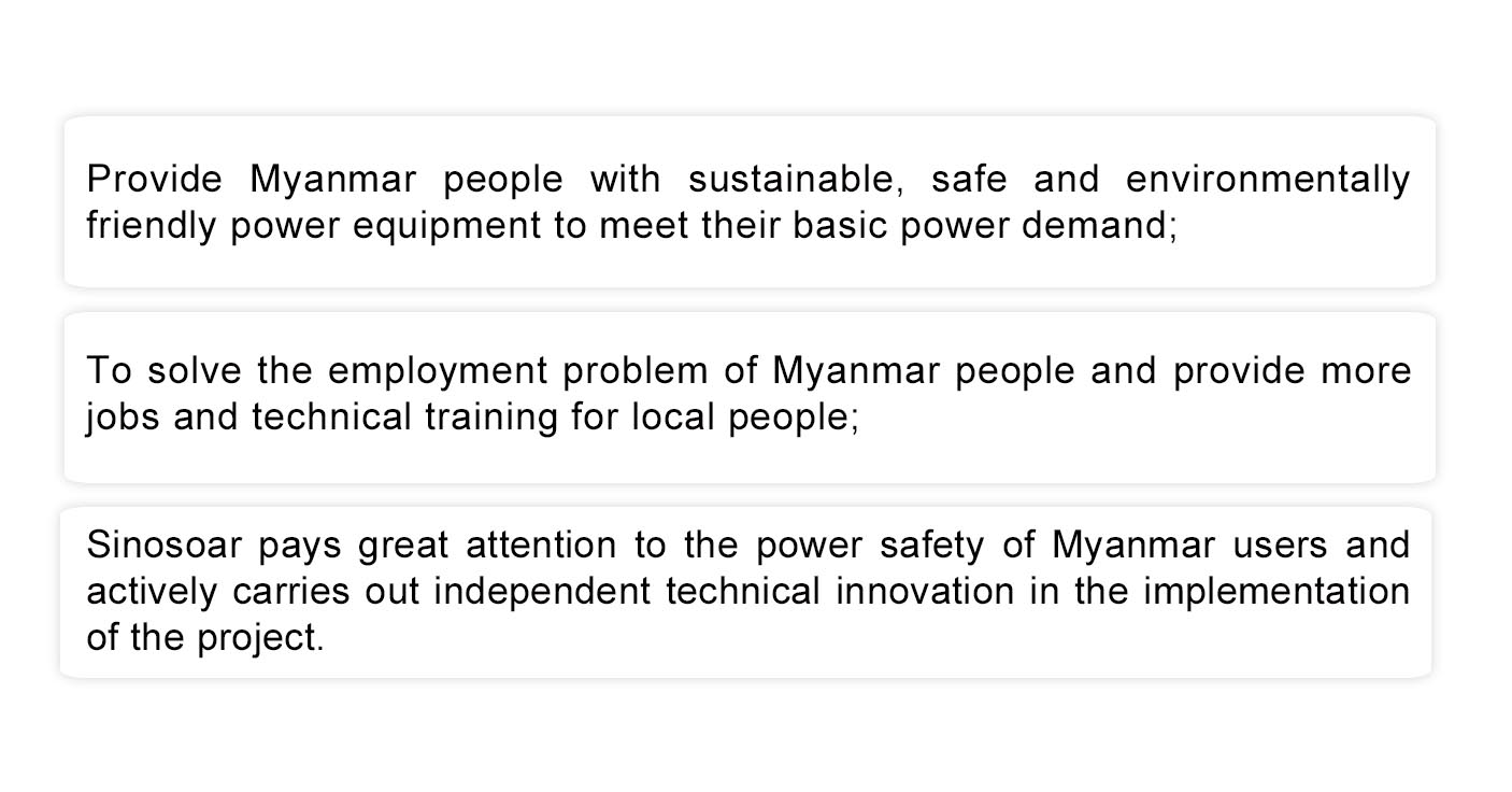CASES-Solar Hybrid Power System Project for Factory in Myanmar插图2