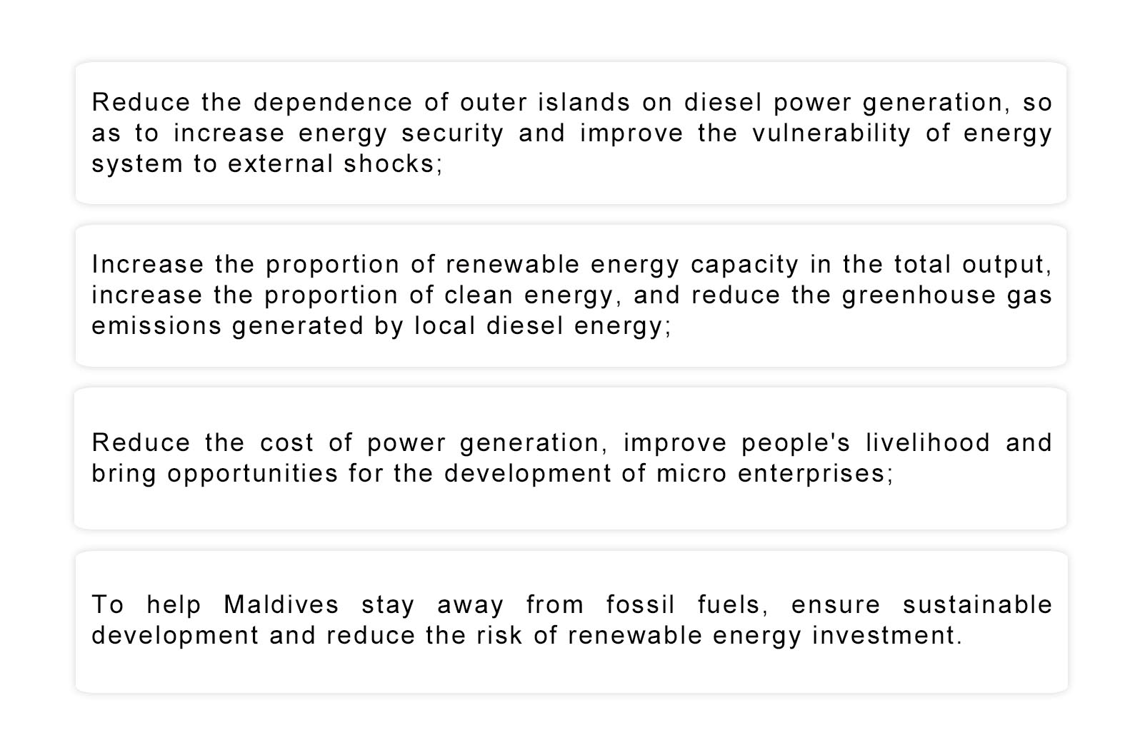 CASES-Solar Hybrid Power Project in Miladhoo Island of Maldives插图2