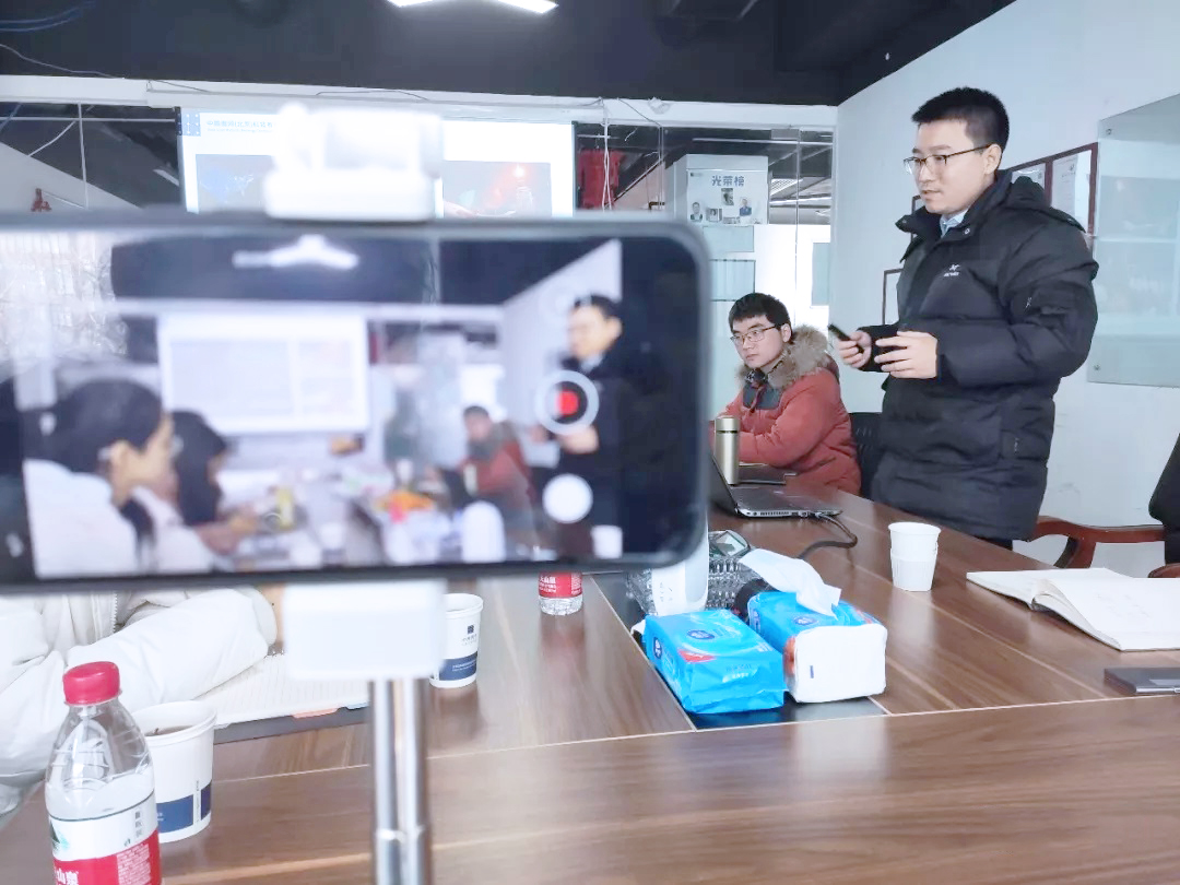 Students from Dalian University of Technology Visited Sino Soar Office插图2
