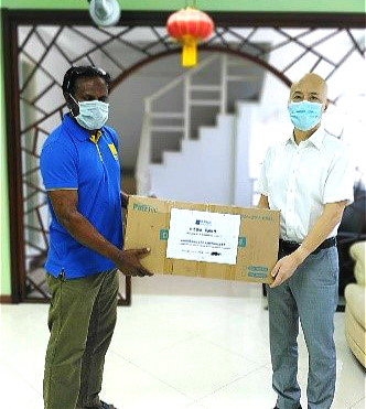 Sino Soar donated anti-epidemic materials to the Chinese Embassy in the Maldives and the Maldives Ministry of Energy插图2