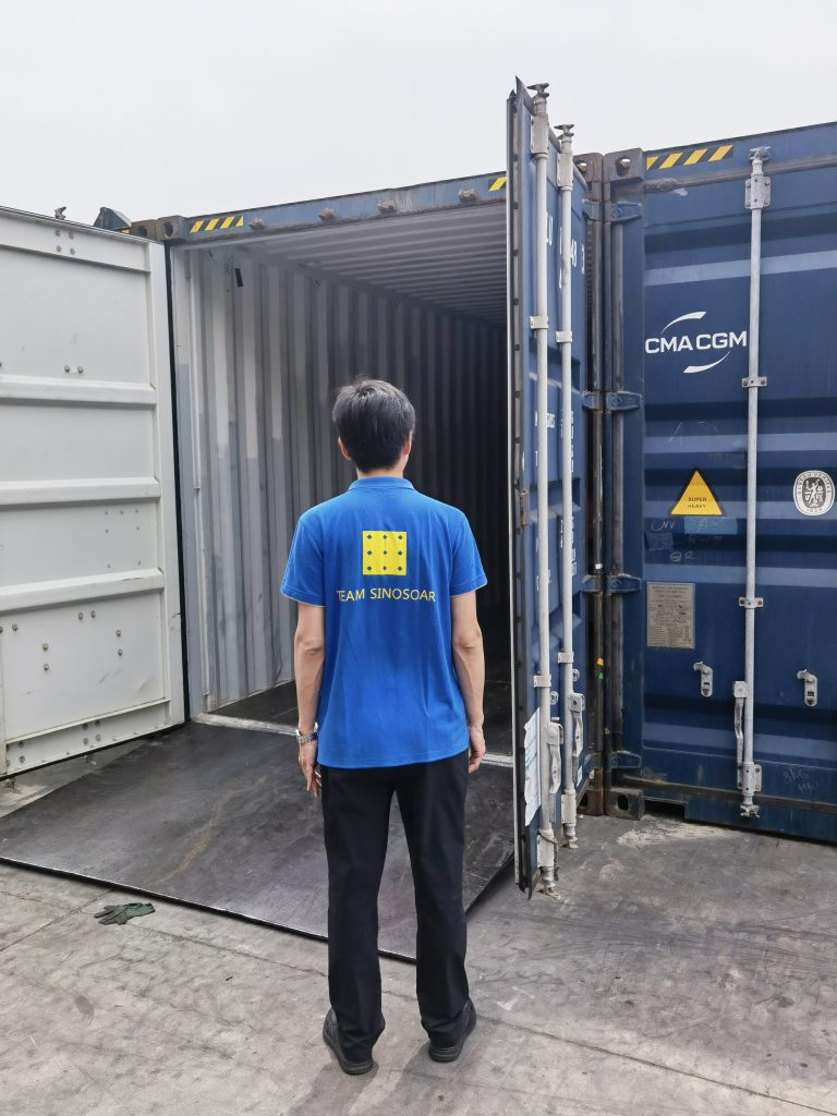 The first batch of container regarding the hybrid project of Niger has been shipped插图2